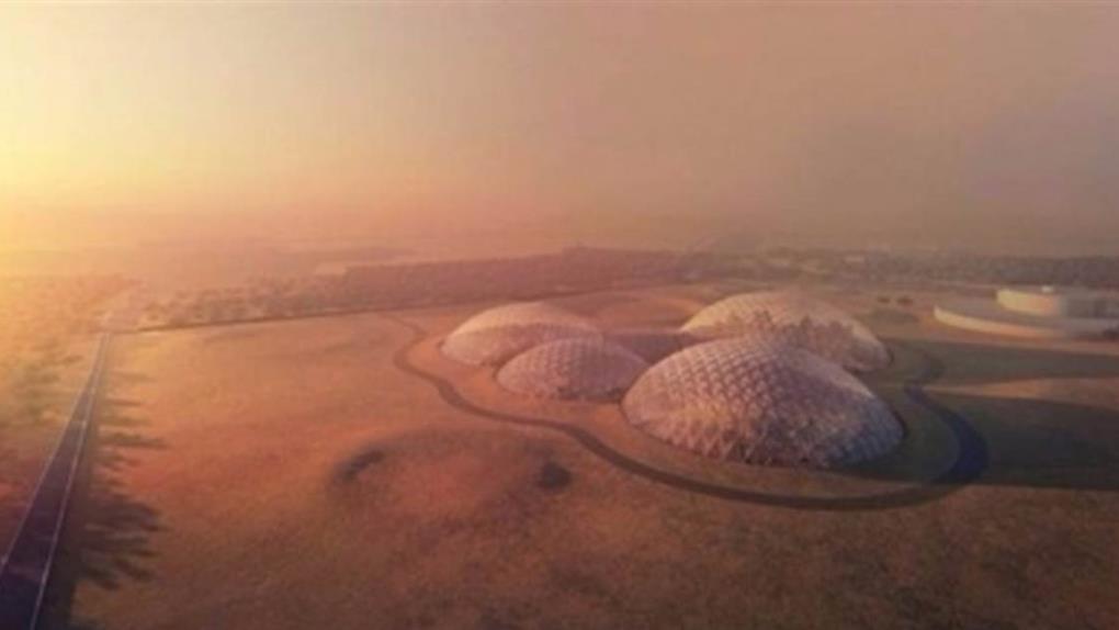 杜拜要打造全球最大火星城 把中國火星村比下去