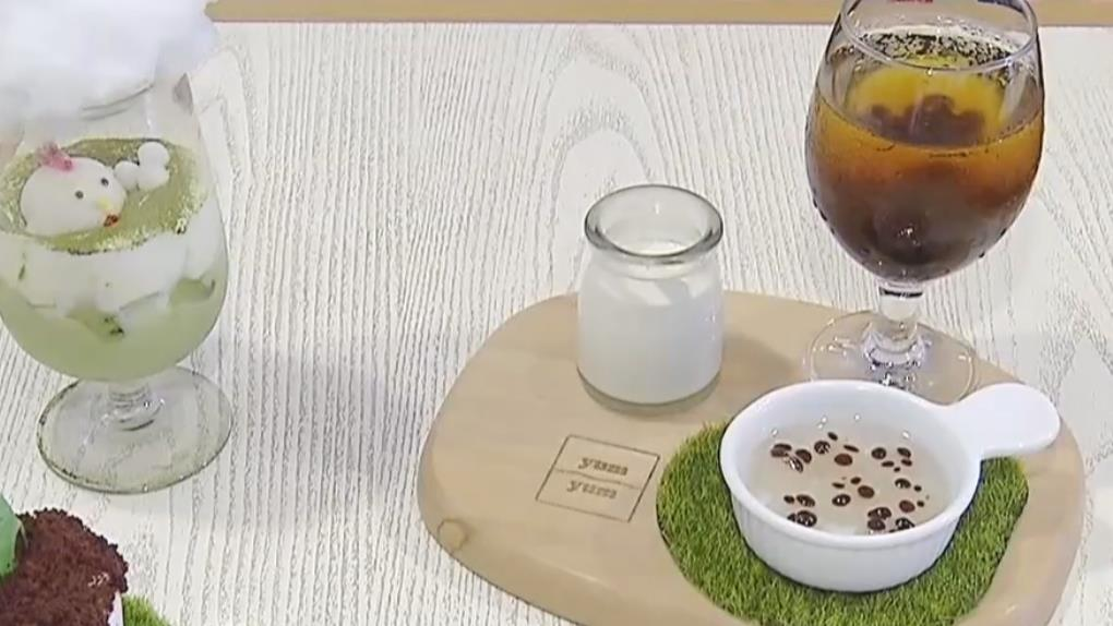 豪邁蔬果荔枝雪花冰 顧客先拍再吃!