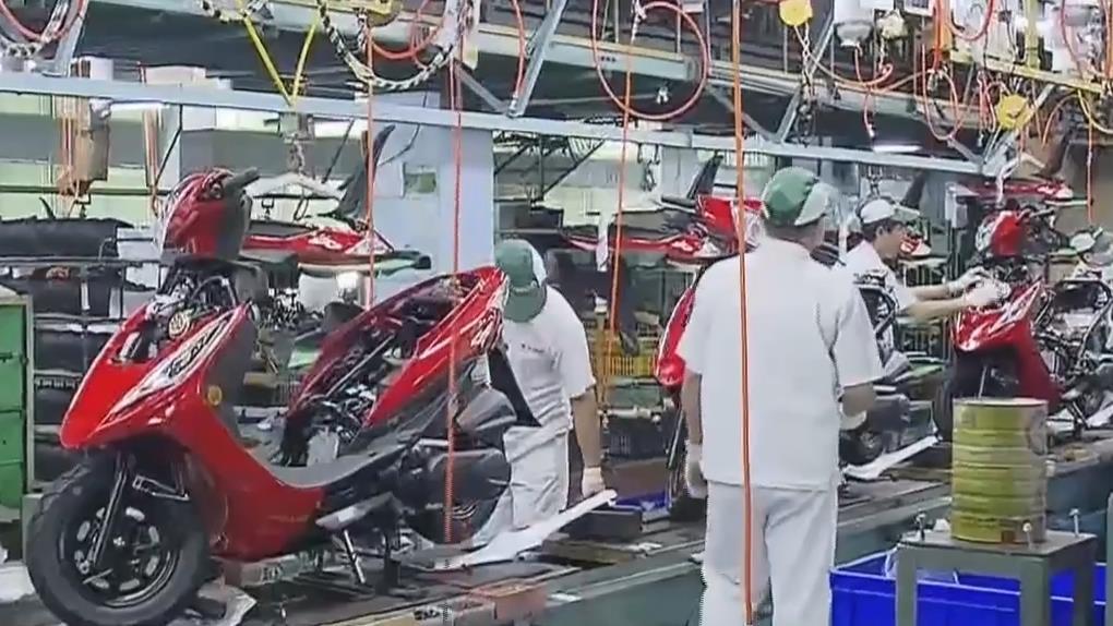 直擊國產機車龍頭廠 六條產線日產1800台