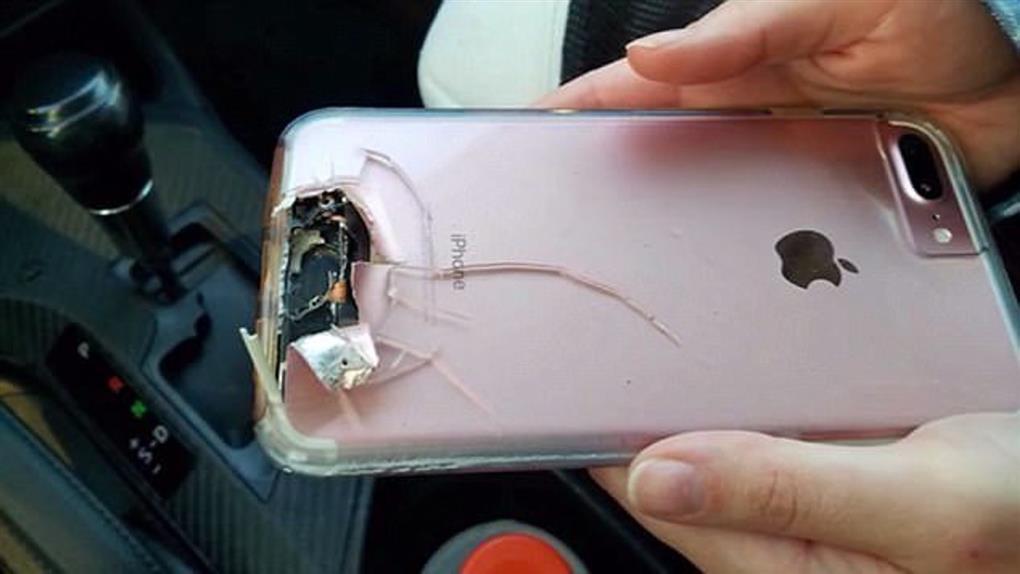 iPhone擋子彈?賭城大屠殺 女子iPhone炸碎但躲過死劫