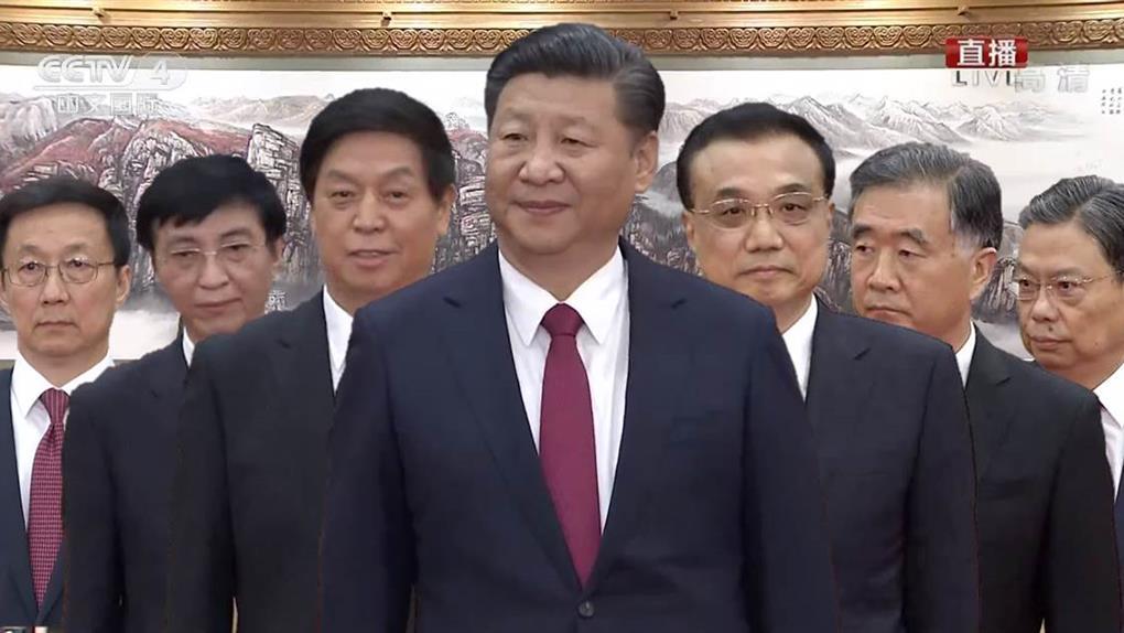 陸新政治核心7常委亮相 習近平「新左右手」原來是他