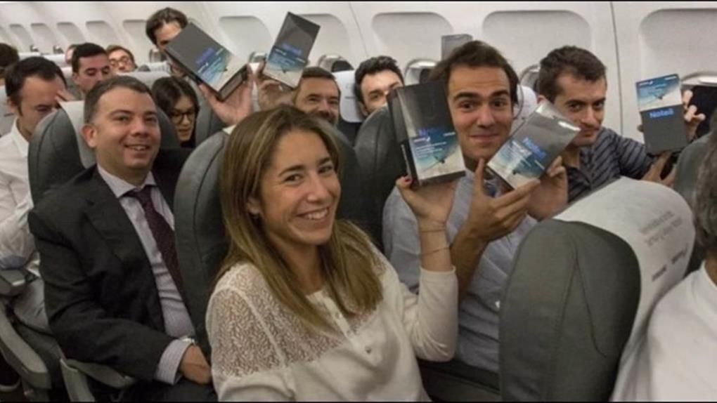 不會自爆了!200支Note8手機 三星免費送全飛機乘客