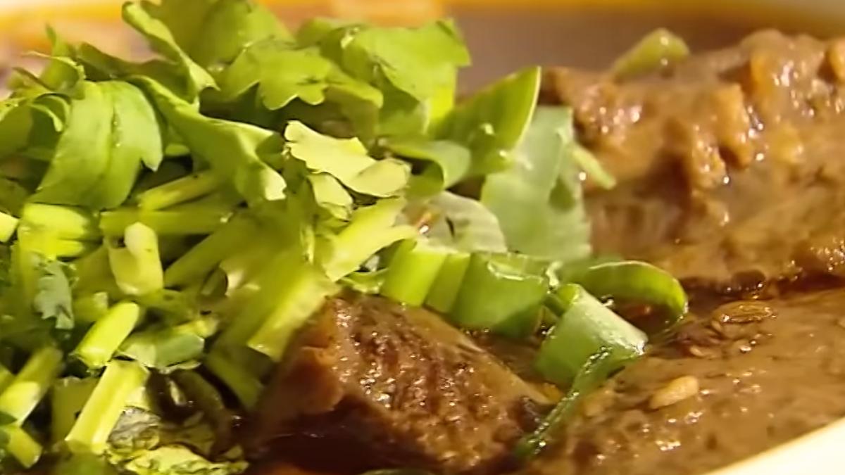 香麻川味牛肉麵 肉軟嫩湯鮮甜