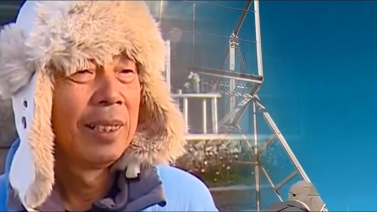 無畏3858公尺的孤寂 玉山北峰氣象觀測員謝新添堅守崗位24年