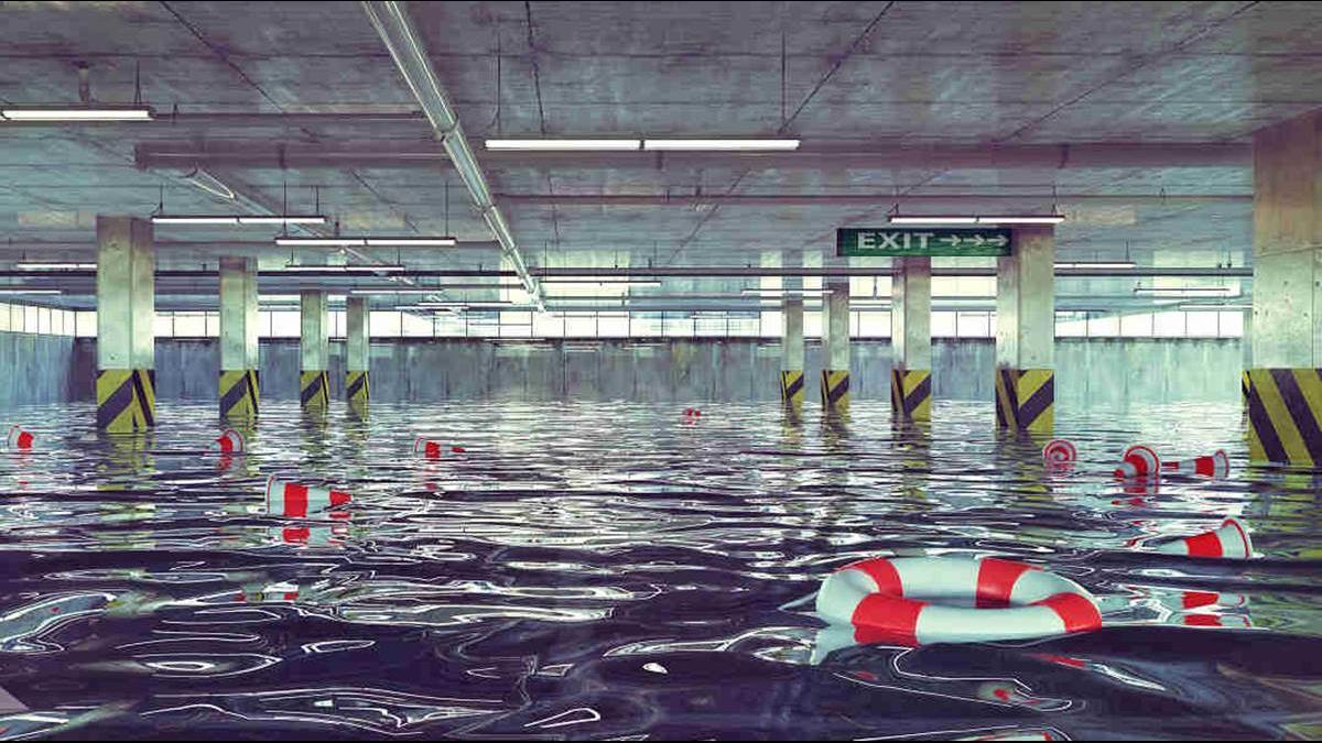 地下室漏水大工程!專家:先界定空間再做處理