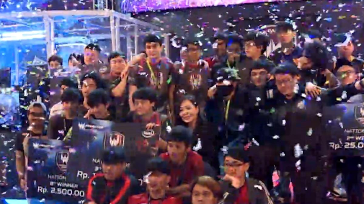 宏碁印尼電競賽:1197隊伍槍15萬美元獎金