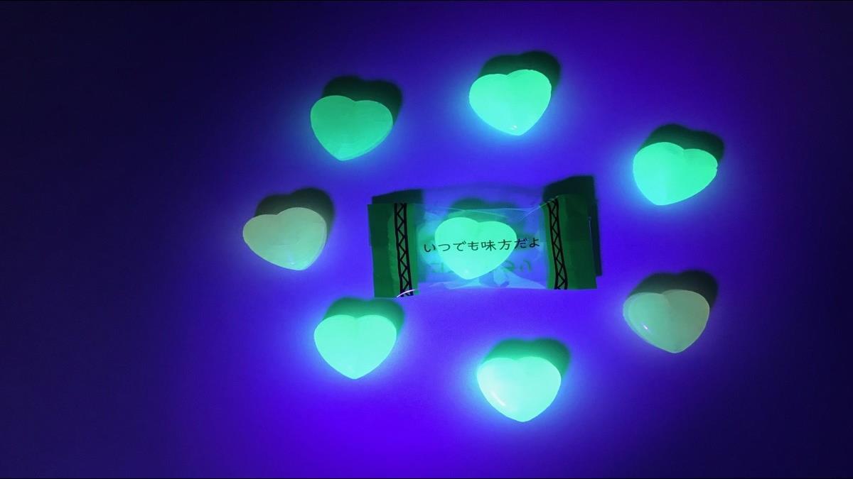 日創意無極限!繼透明奶茶後 再推「愛心夜光糖」搶閃光荷包
