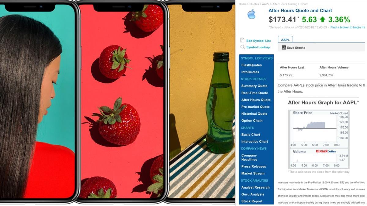 蘋果財報3好2壞 高價iPhone拉高平均單價至796美元