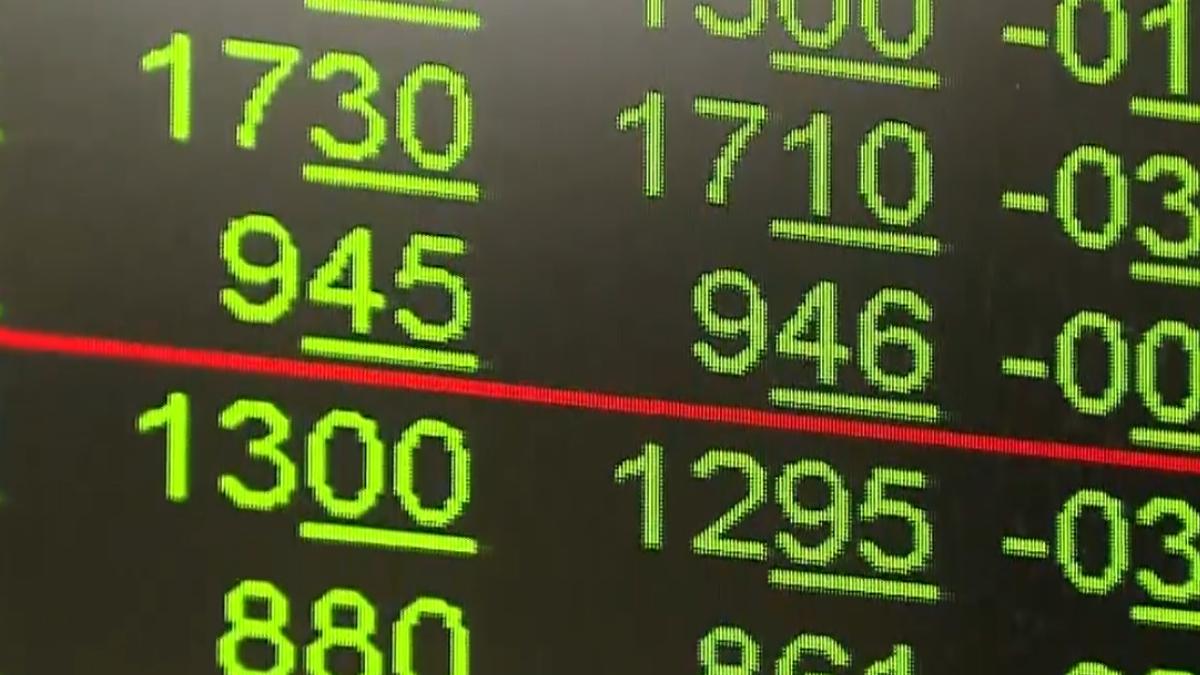 台股失守月線 一度重挫270點 終場收179點