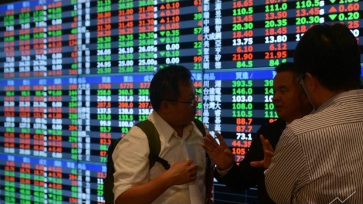 台股止跌回升!開盤大漲200點 漲幅2.16%