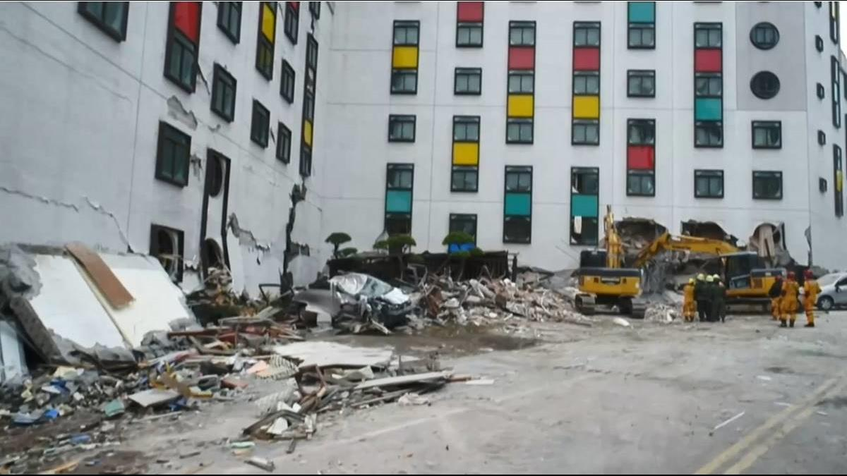 花蓮強震 若「房屋全倒」地震險可先領20萬元臨時住宿費