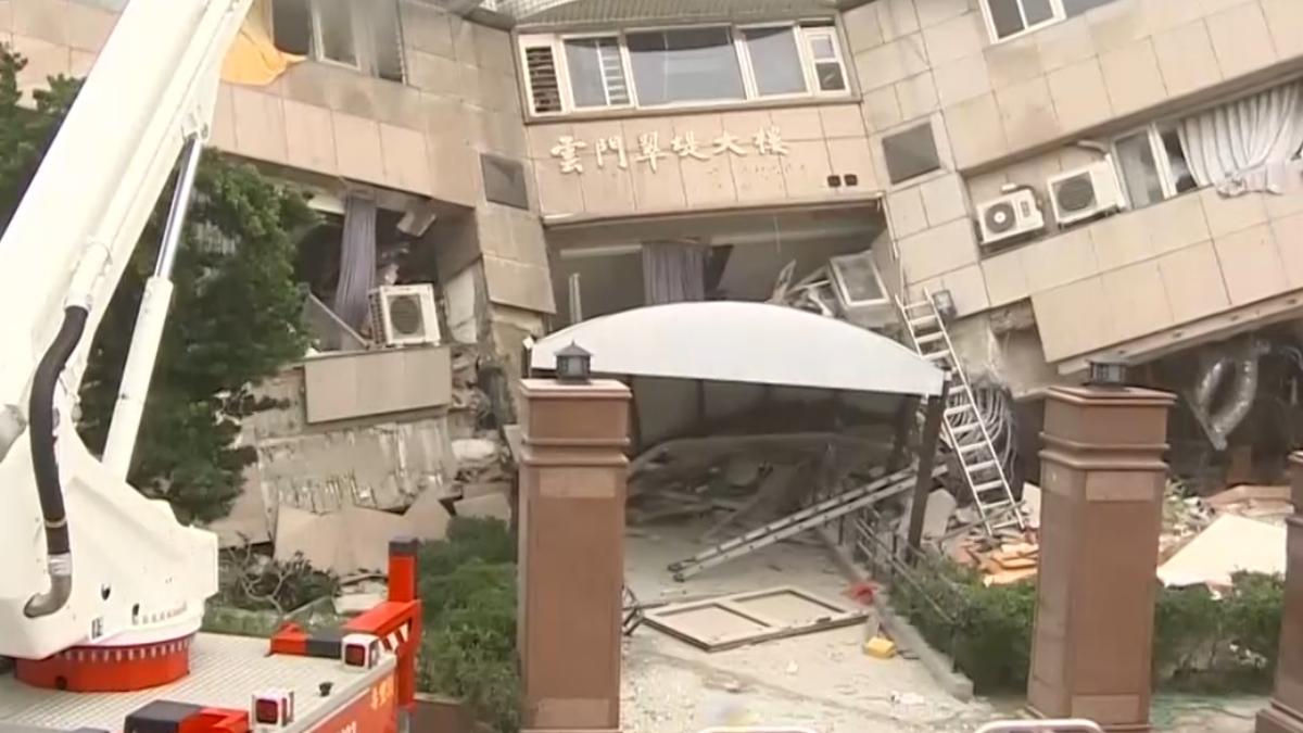 強震都倒大樓?! 一樓柱子少成致命傷