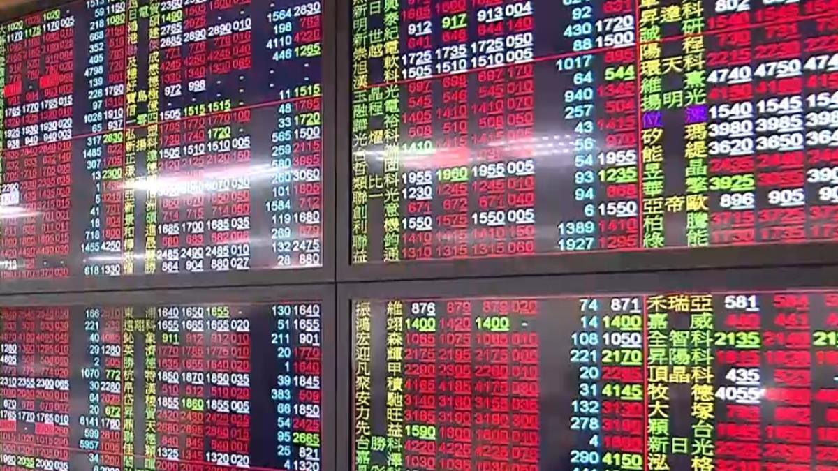 台股12日收漲49點 首度過年萬點封關