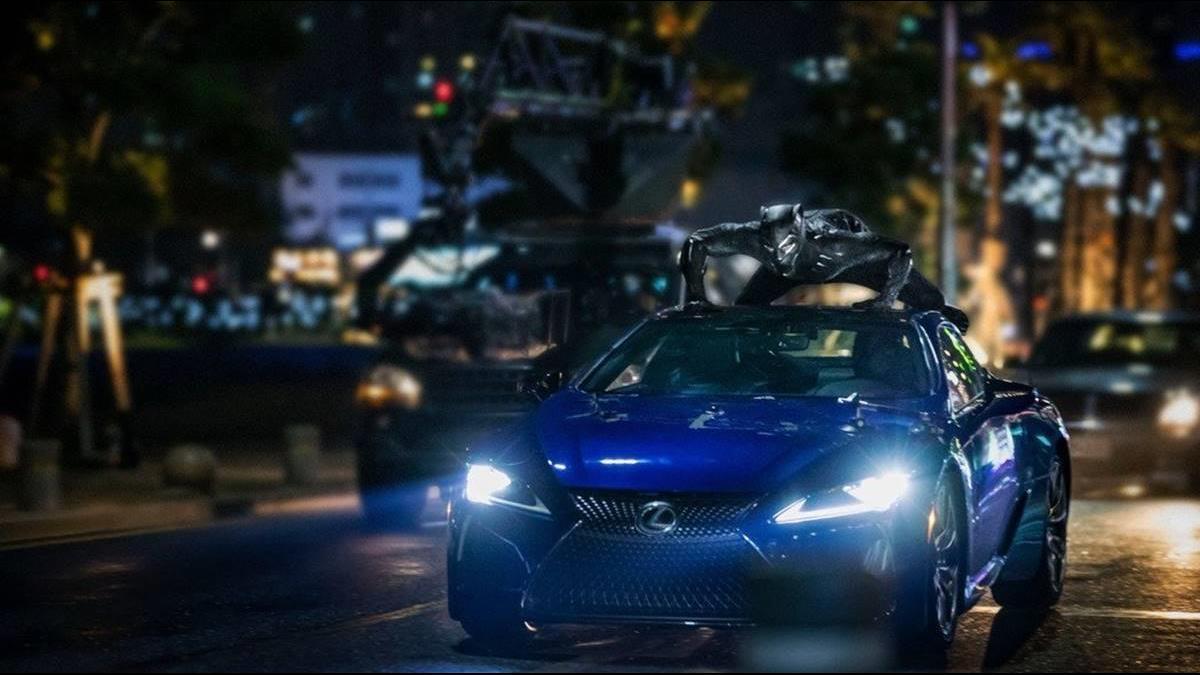 黑豹王者戰車Lexus LC限量登場 靈感竟來自蝴蝶?