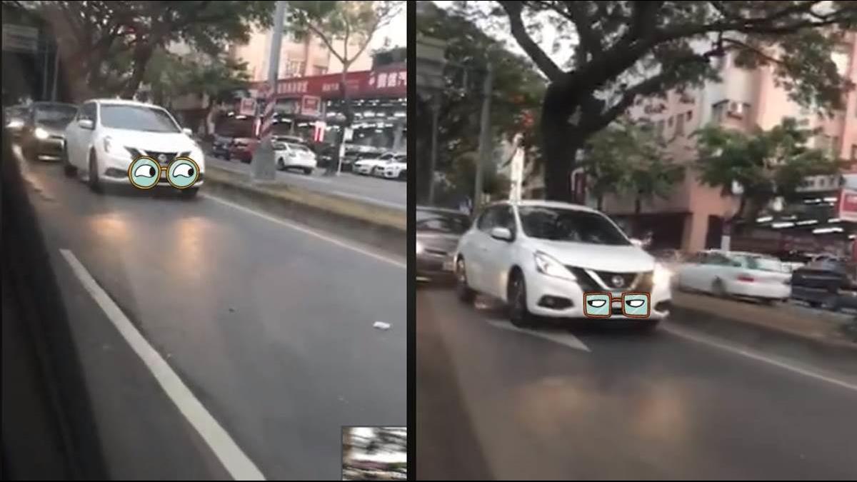 「路隊長」高雄市區開時速20公里 駕駛崩潰:塞車都有你!