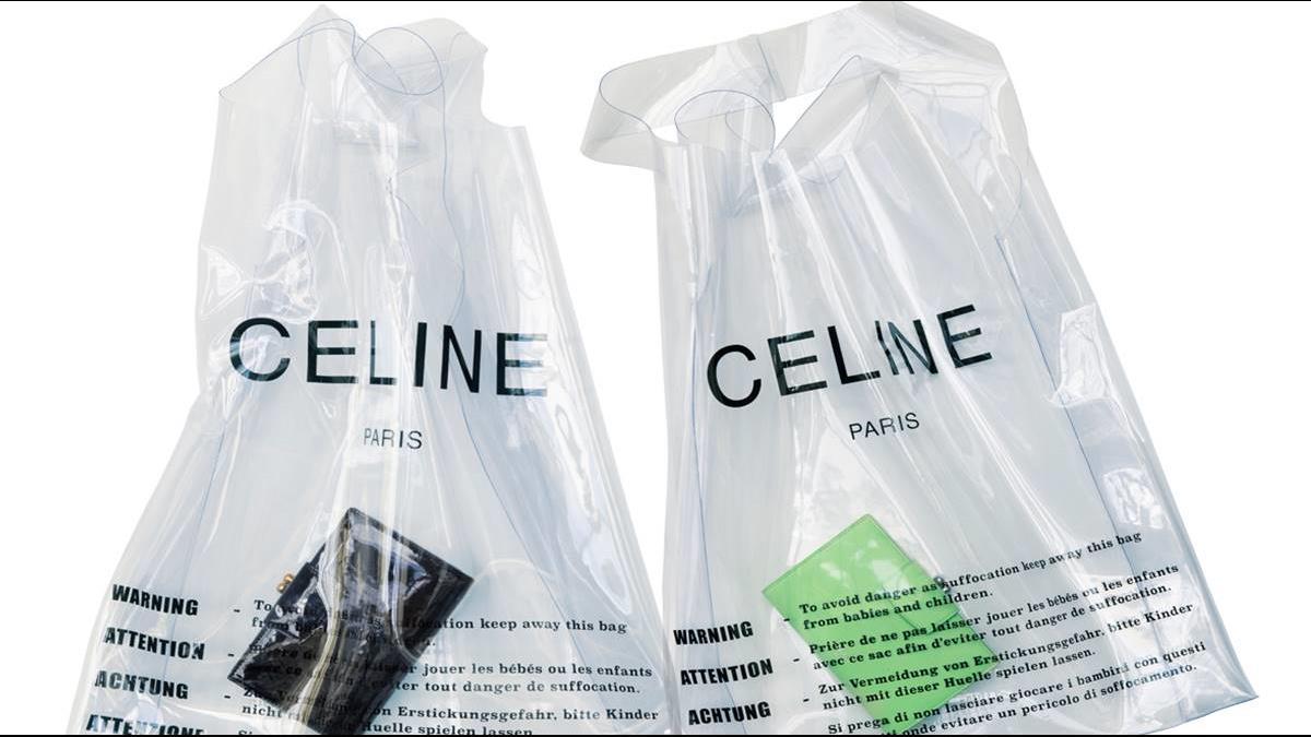 時尚品牌推出透明購物袋 一個要價1.7萬