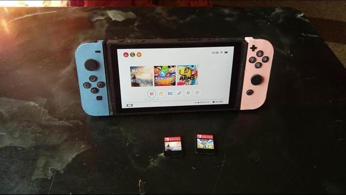 在天堂也玩任天堂  「紙紮Switch」成清明祭祖最佳伴手禮