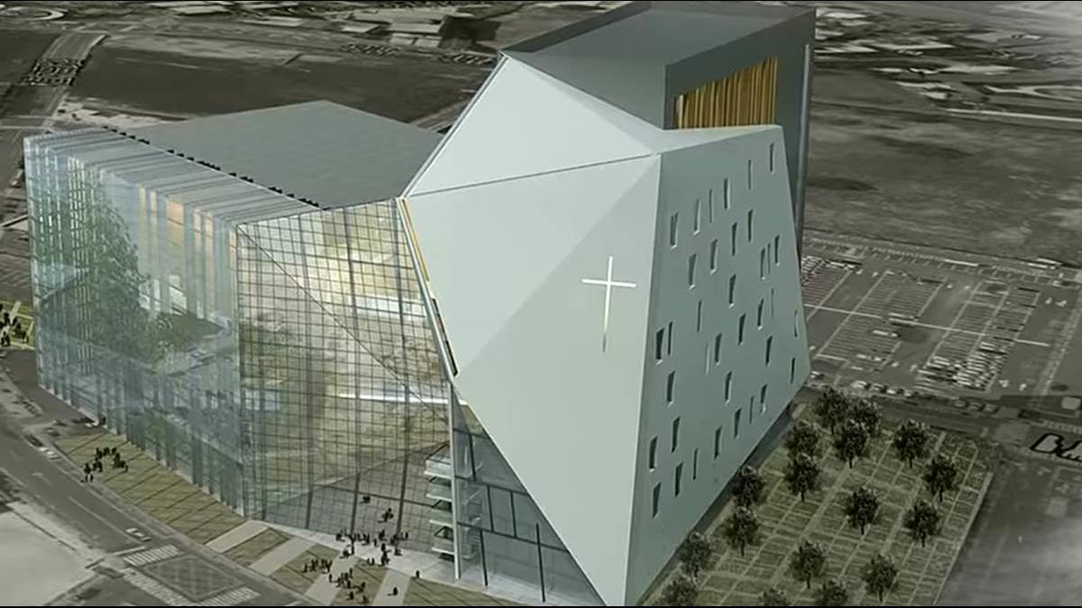 這不是VR影像!全台最貴教堂市值60億元在大直 王雪紅「隨喜」