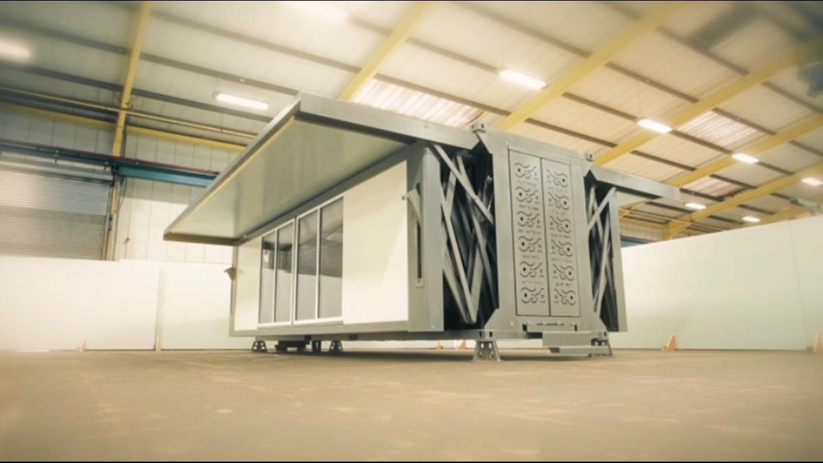 變形金剛房屋版 自動組裝10分鐘就能有間房