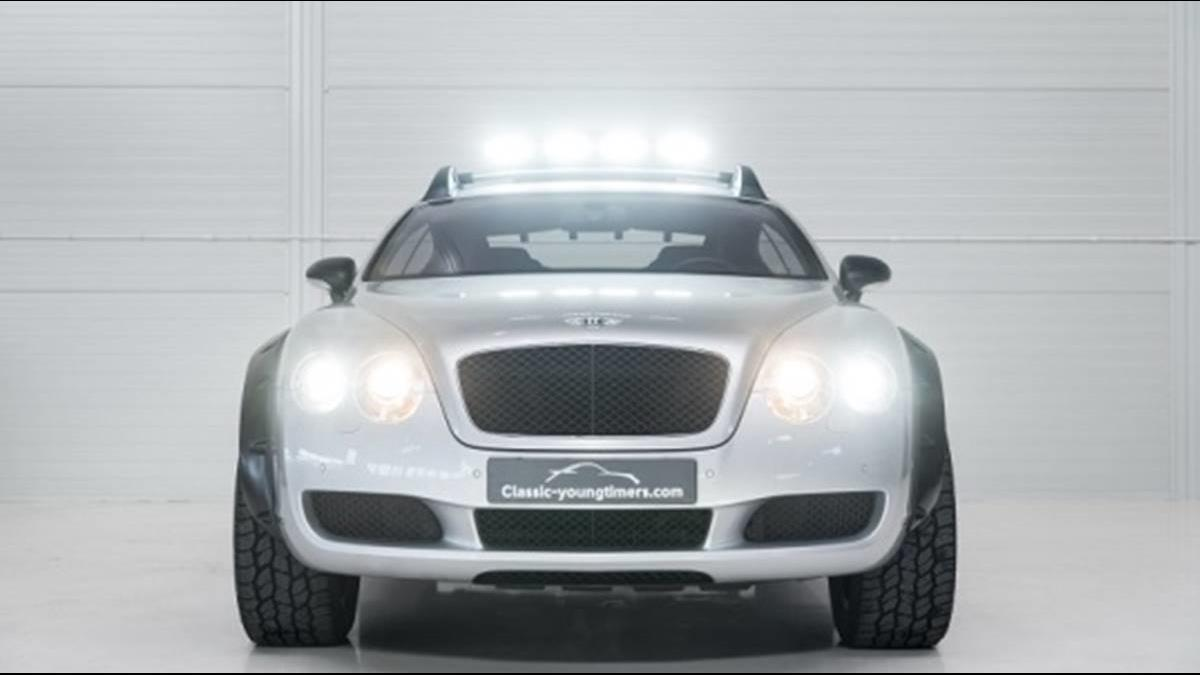 捨得去溯溪嗎...賓利Continental GT被改成超霸氣越野車