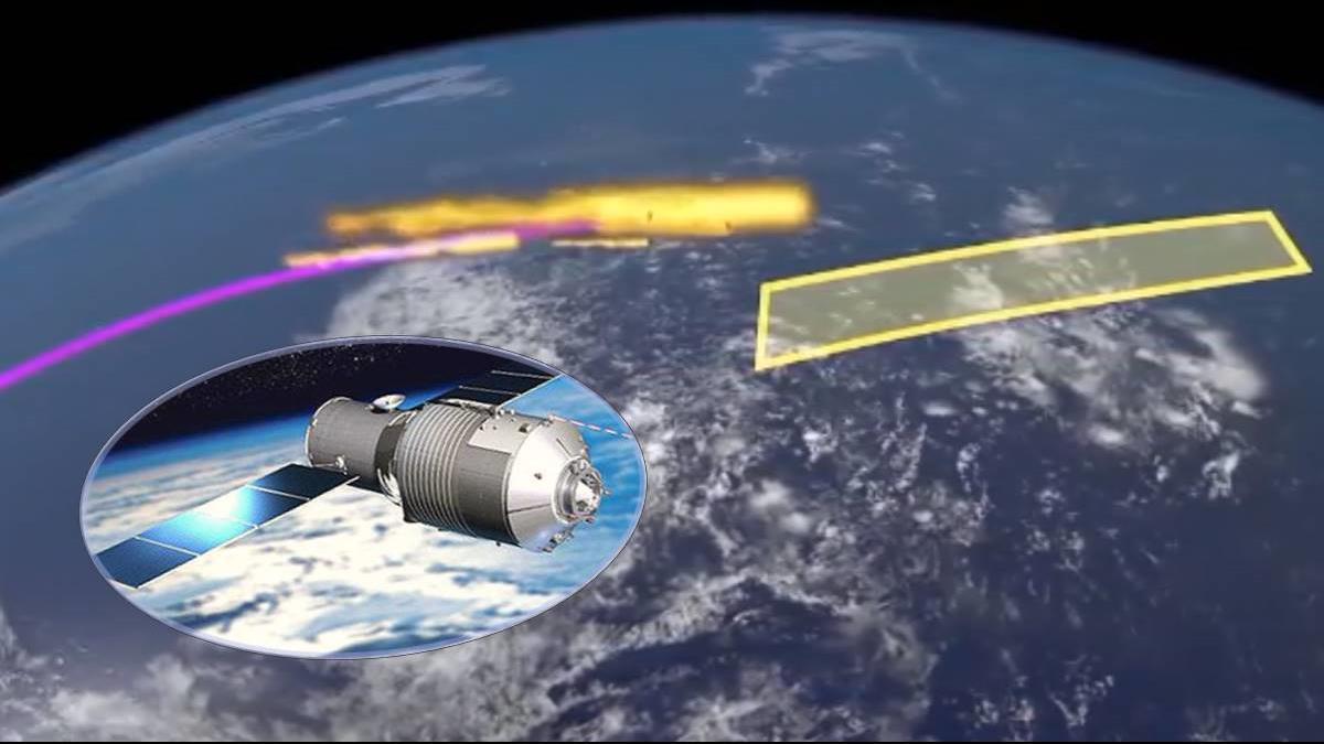 大陸人造太空站「天宮一號」周末恐墜毀 範圍包含台灣