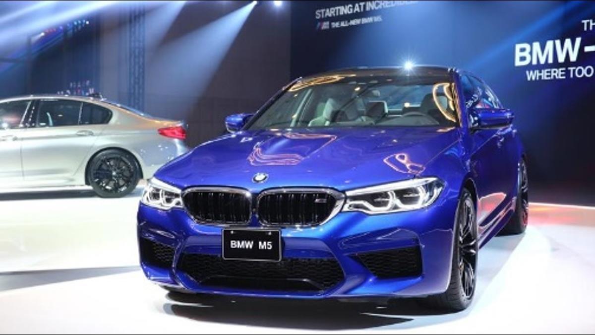 對決賓士!BMW史上最強M5襲台 配額50輛「剩不到20輛」