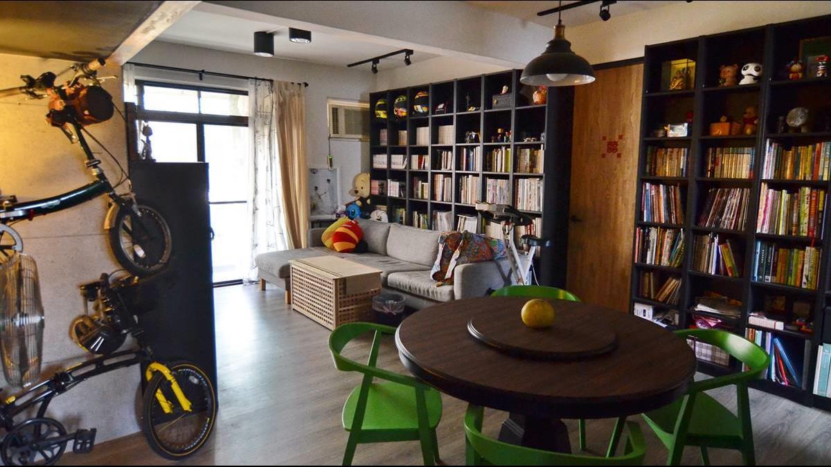 步入禮堂前 他把老婆的童年老公寓變身現代風小屋 90萬搞定