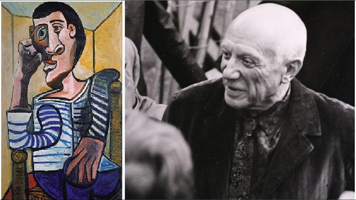 畢卡索憂鬱自畫像「Le Marin」拍賣成交價上看20億