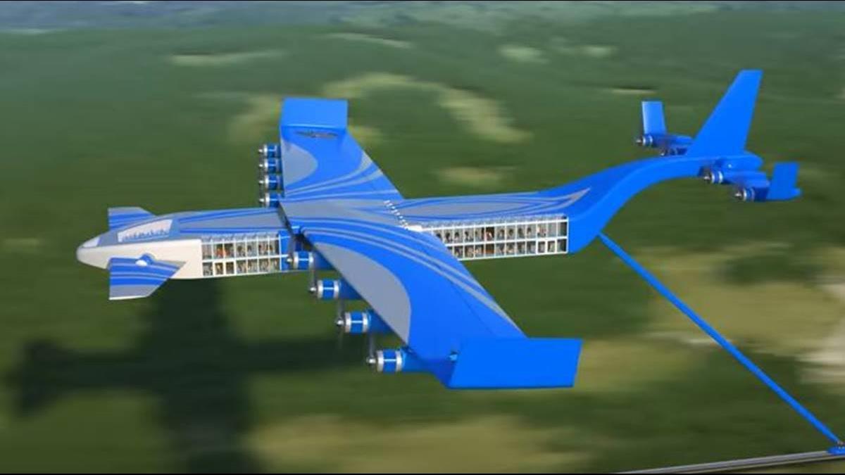 「火車快飛」原來是預言? 俄飛行高鐵時速飆600KM