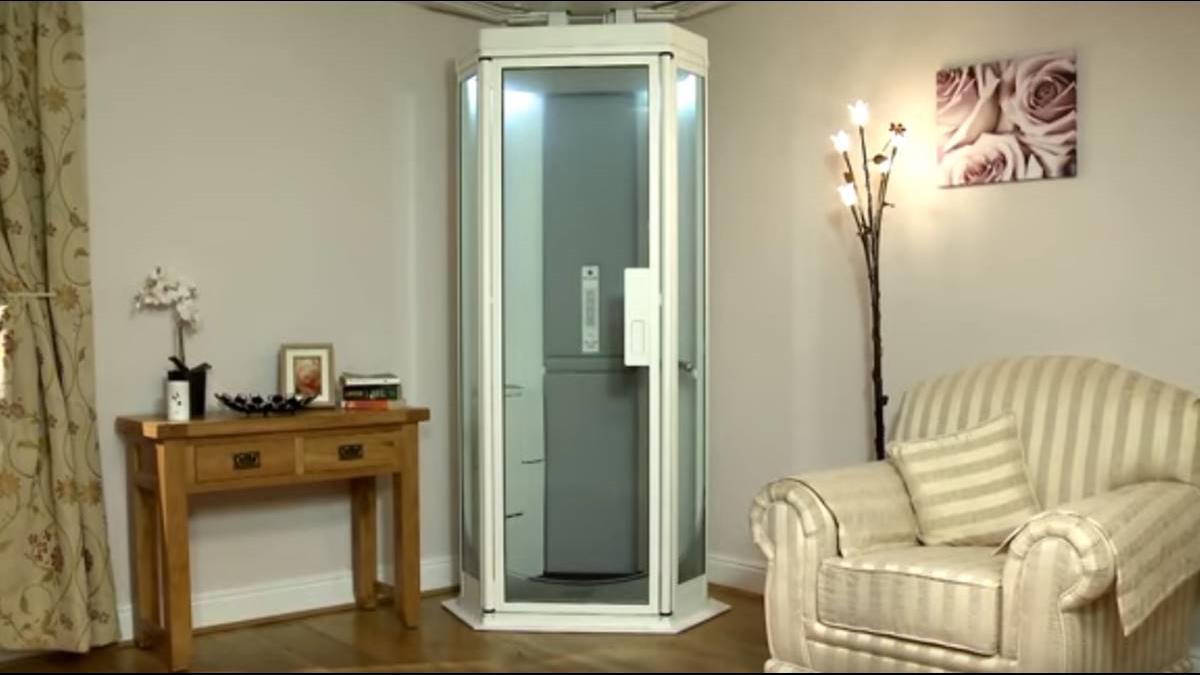 年紀大腳麻怎麼辦? 這電梯讓你開門就進房間