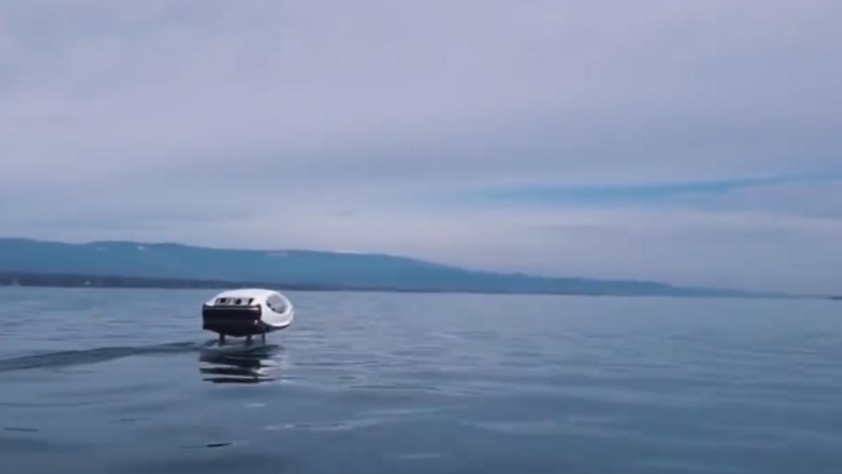 通勤不用再苦等紅綠燈!「水上計程車」漂浮移動?