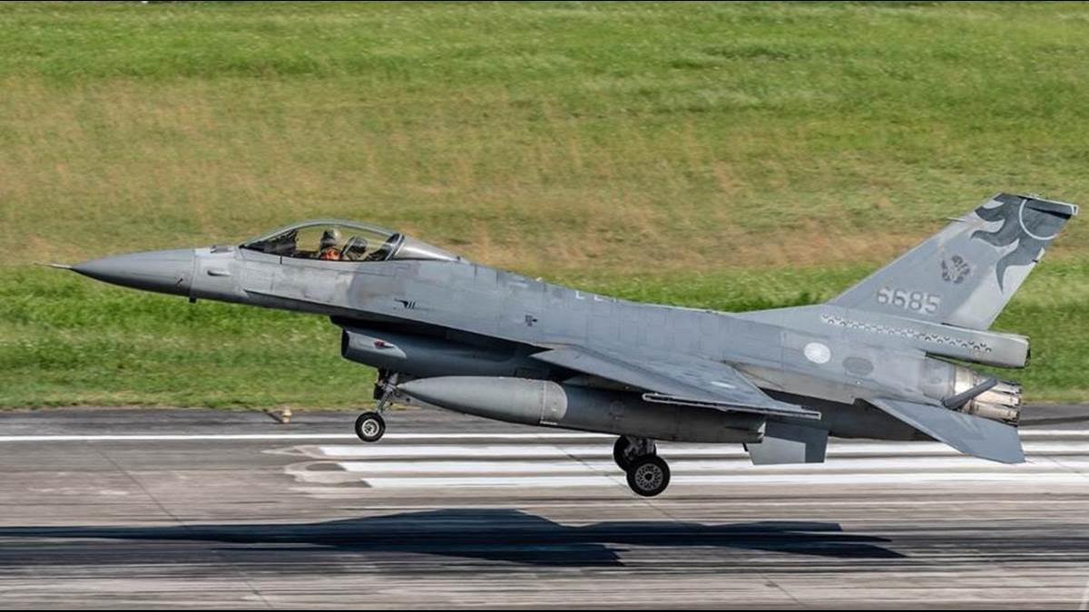 心痛F-16折翼!「鳳展專案」耗資1100億元升級 F-16V將少一架