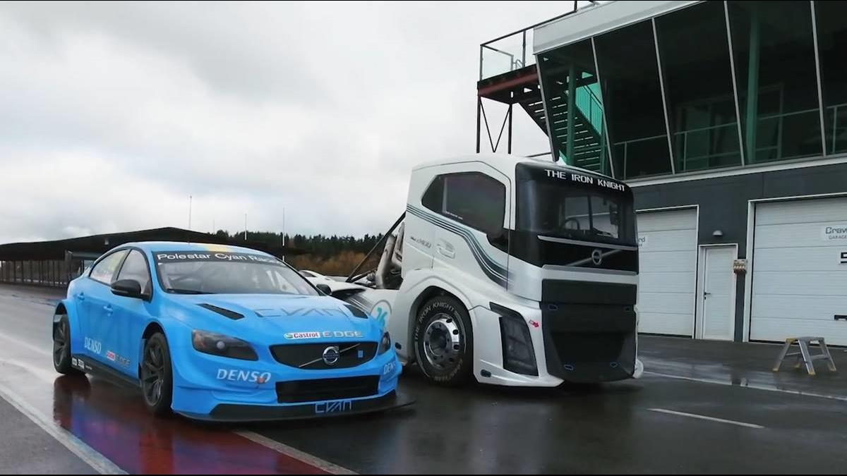4.5噸卡車跟超級轎跑PK百公里加速?結果太出乎意料了!