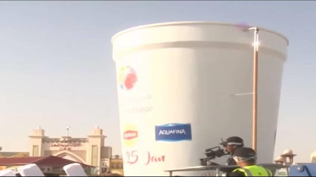 挑戰金氏世界紀錄 杜拜煮世界最大杯奶茶