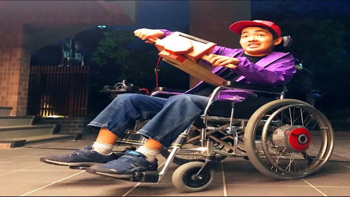 超暖心!任天堂LABO新玩法 為心臟病童打造「智慧輪椅」