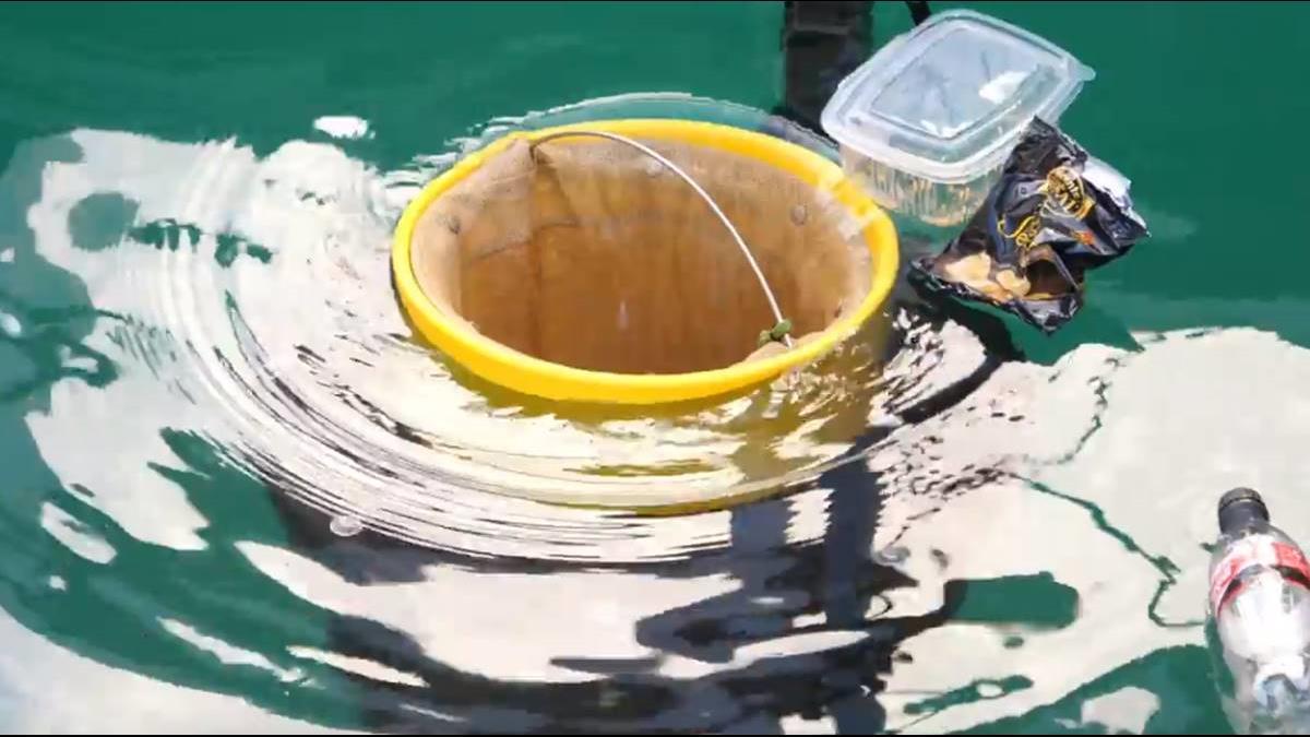 「海洋垃圾桶」問世 高效率對抗塑膠污染!