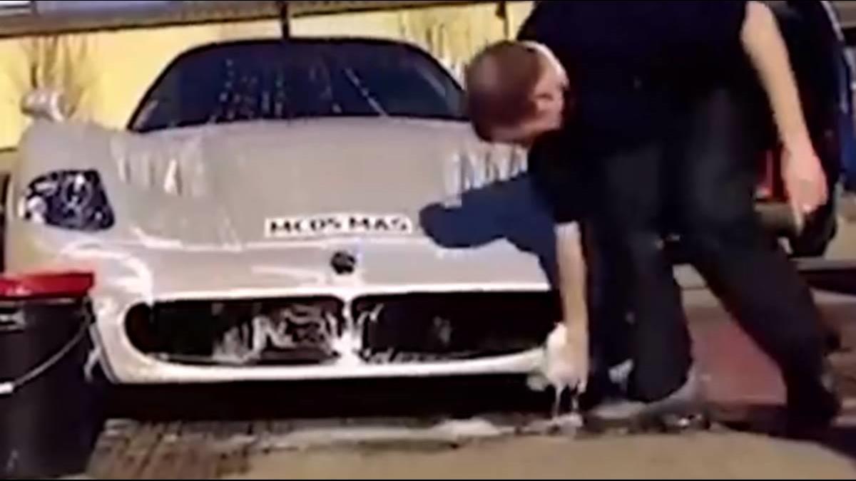 史上最貴洗車一次要19萬!車身洗完亮到有另一個世界?