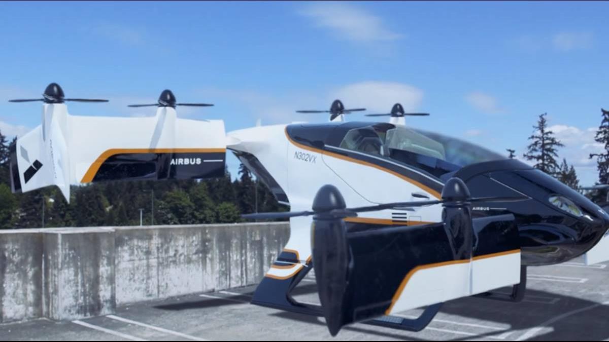空巴讓無人駕駛飛上天! 「飛天計程車」試飛成功