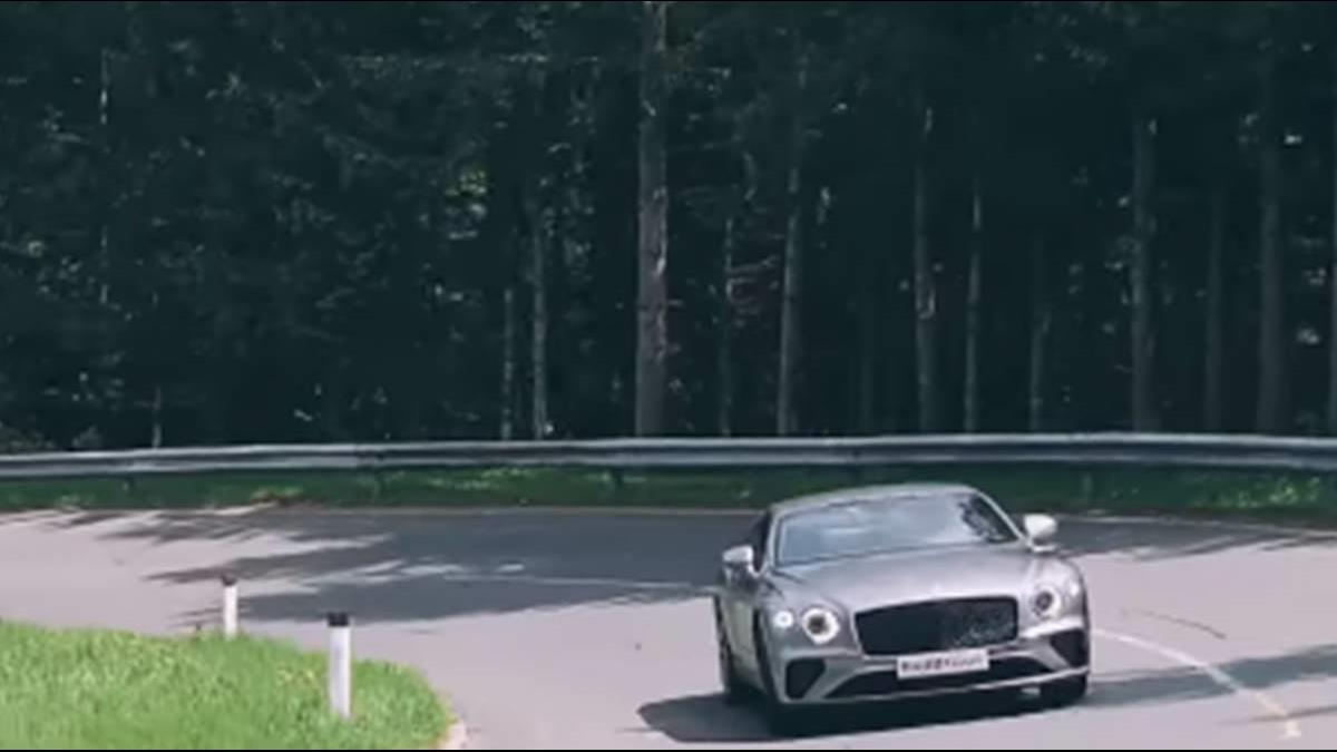 開賓利Continental GT繞阿爾卑斯山 德哥:生涯最爽試駕