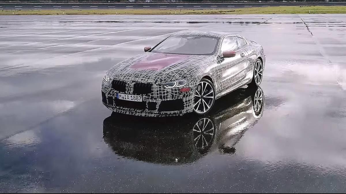 發表前夕悲劇上演  BMW 8系列原型車失控釀致命車禍!