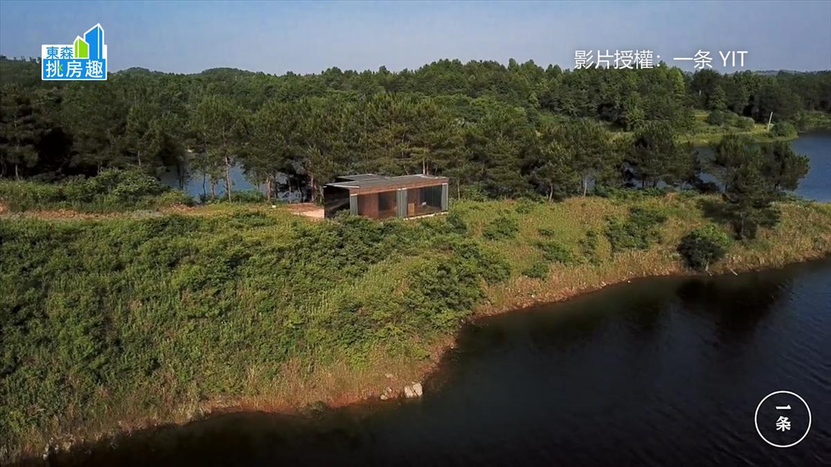 建築師租下大陸荒島 建造4家庭的世外桃源