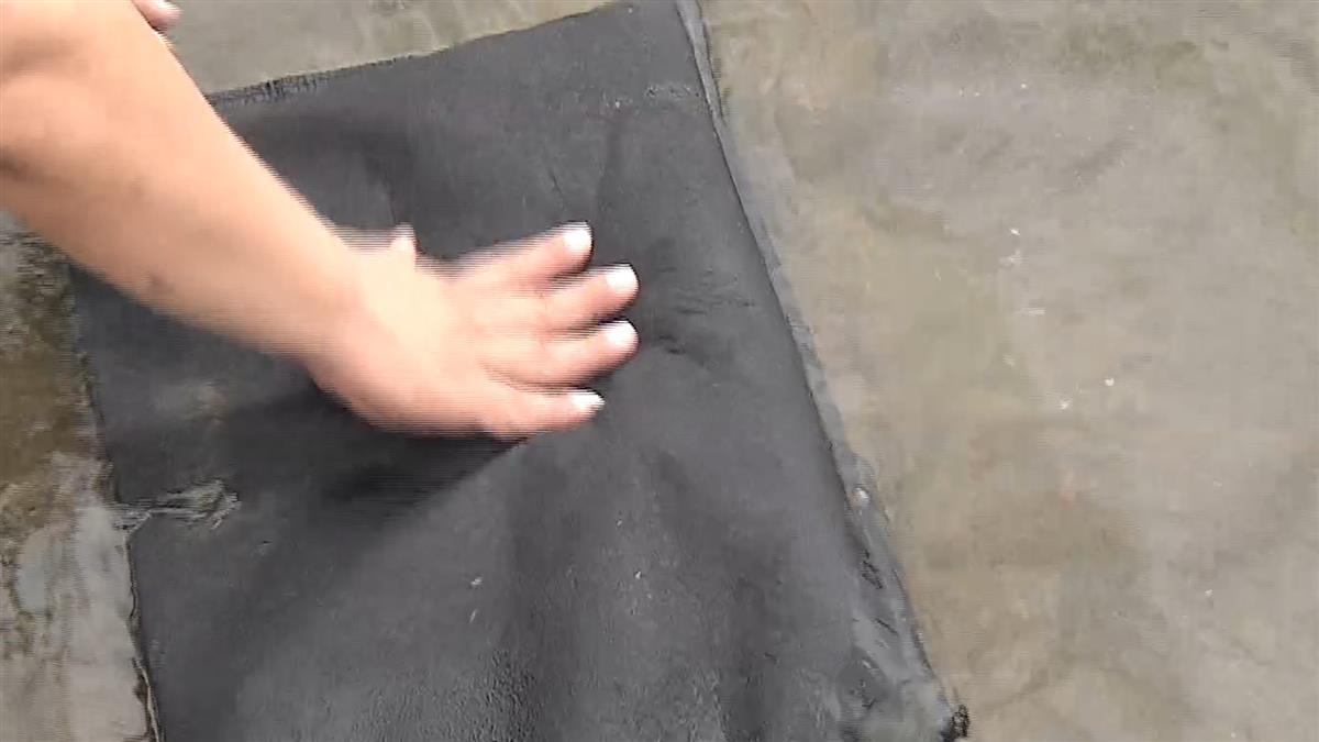 豪雨來免驚!科技沙包重量輕、吸水強