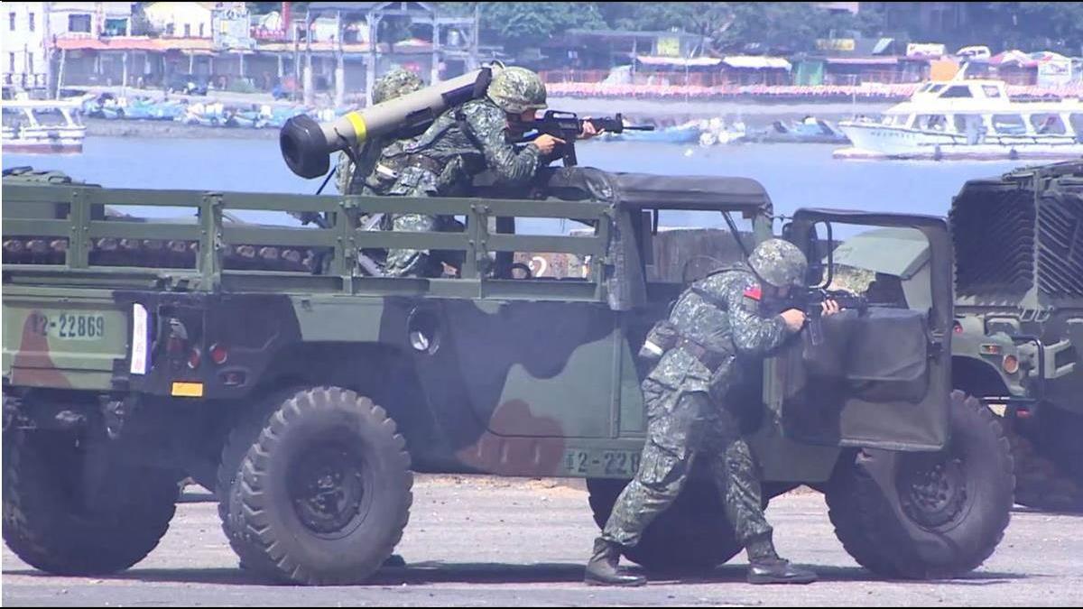 美參院85比10通過國防授權法草案 建議美軍參加「漢光演習」