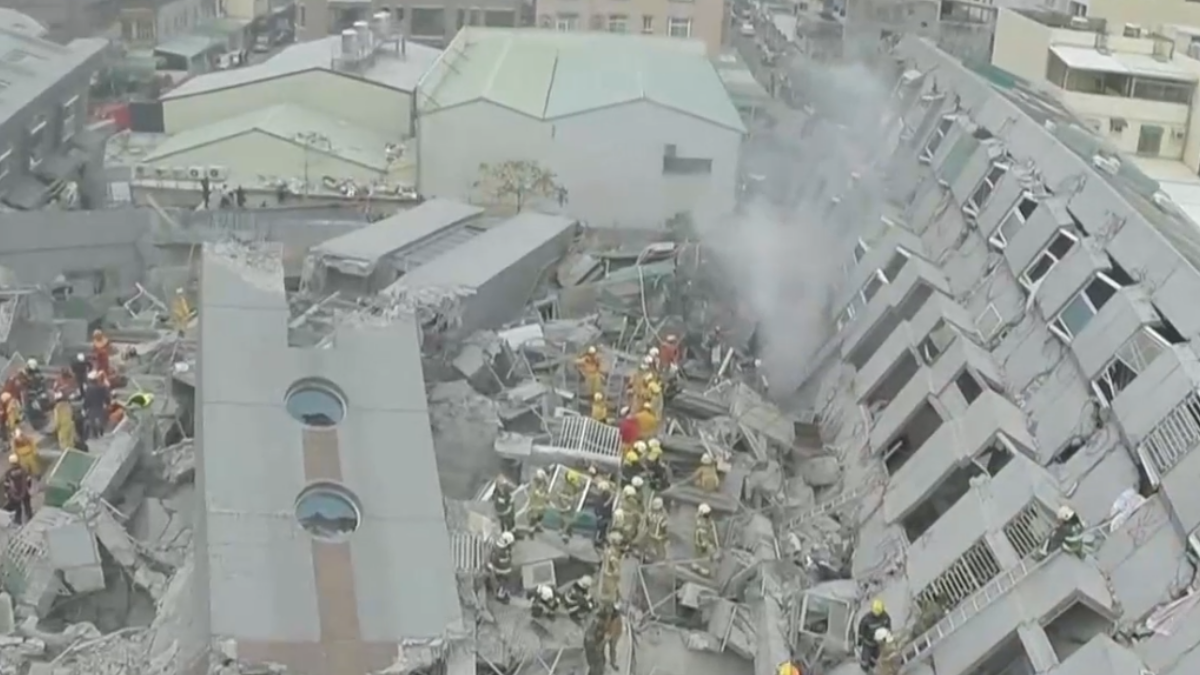 大阪地震樓沒垮? 專家:差在檢查制度