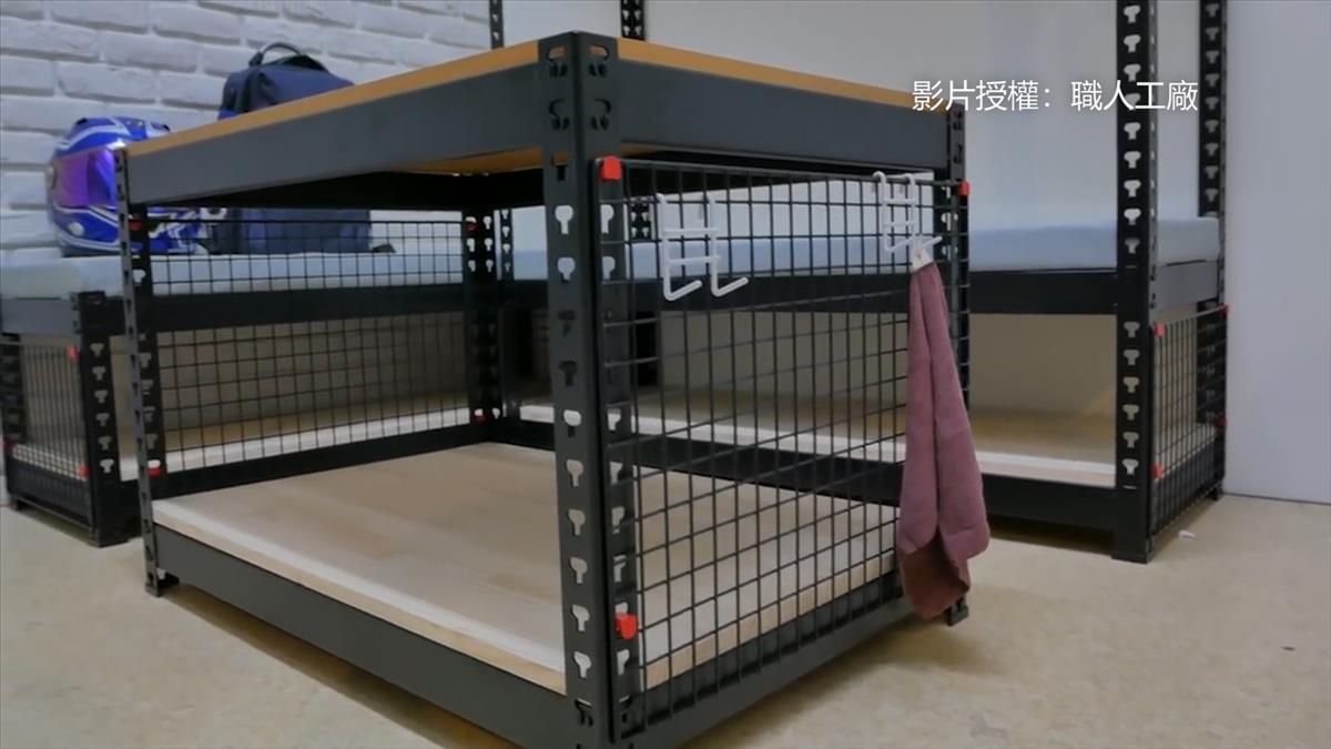 小空間收納魔術再現 角鋼DIY變身沙發組!