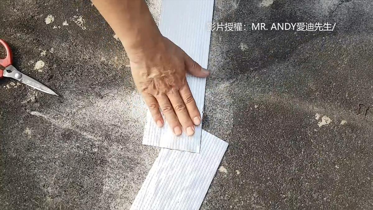 屋頂裂縫成漏水兇手!?最強「防水膠帶」解決煩惱