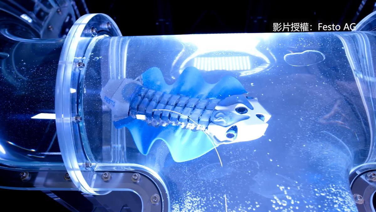 仿生技術打造科幻生物 「機器烏賊」水中超滑溜!