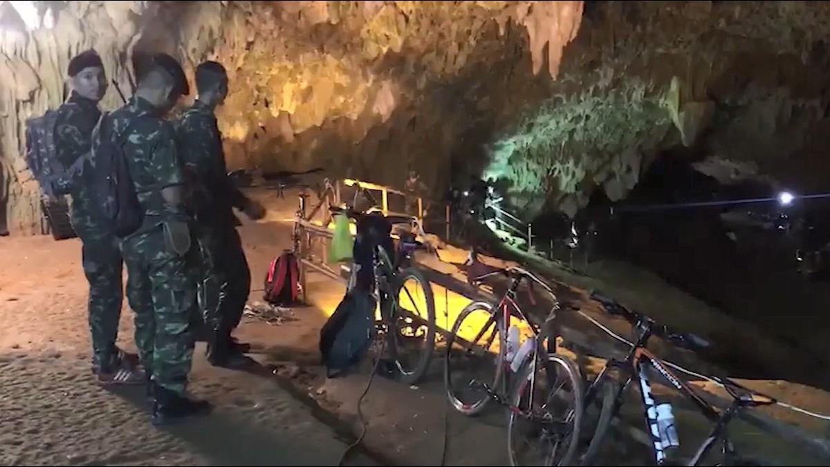 泰國清萊熱門觀光洞穴傳意外 12少年進入探險失蹤3天