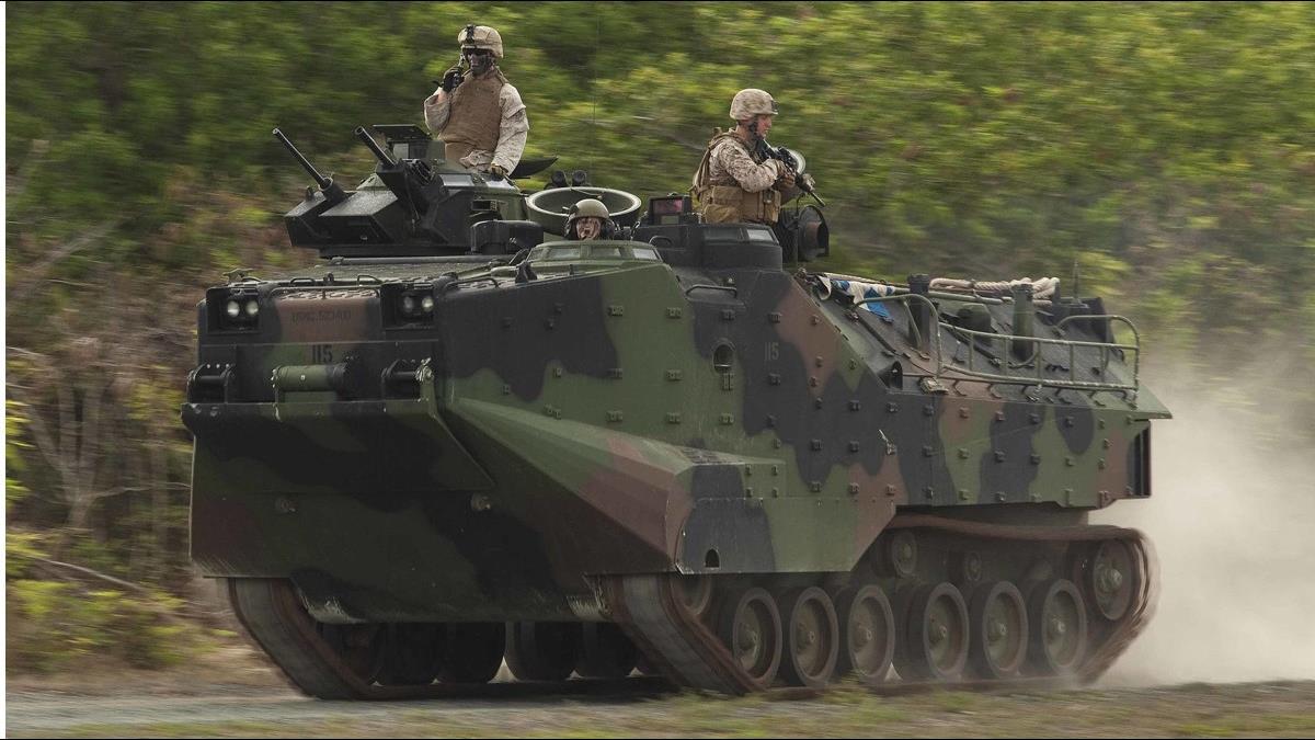 25.5億軍售案敲定!美將售台36輛AAV7A1型兩棲突擊車