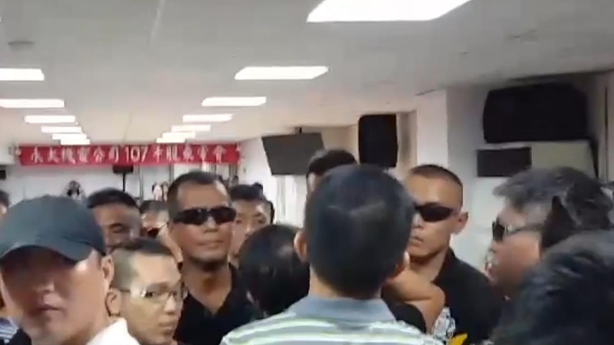 堂兄弟搶經營權 永大股東會爆激烈衝突